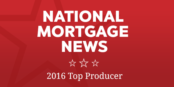 National Mortgage News 2016 Top Originators
